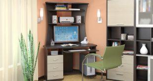 Компьютерные стола в интерьере