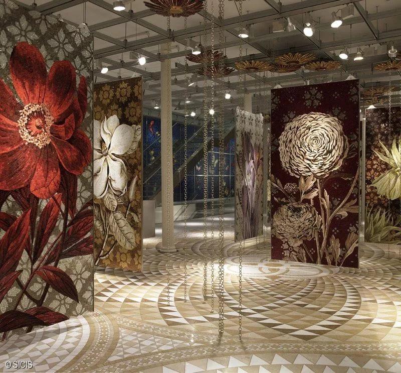 Стеклянная мозаика Sicis